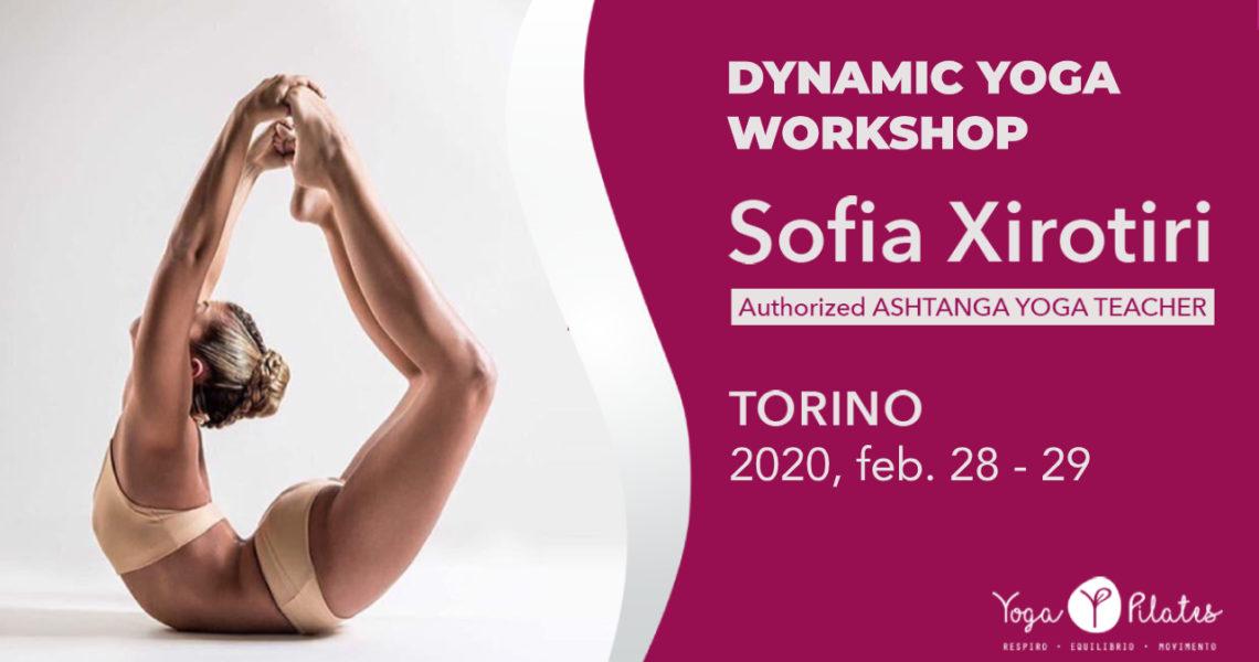 Sofia Xirotiri – Dynamic Yoga Workshop – 2020, Feb. 28/29